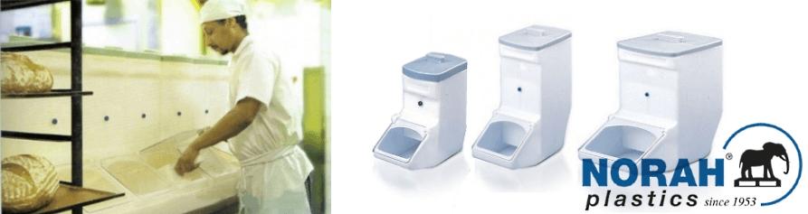 Ingrediënten dispensers