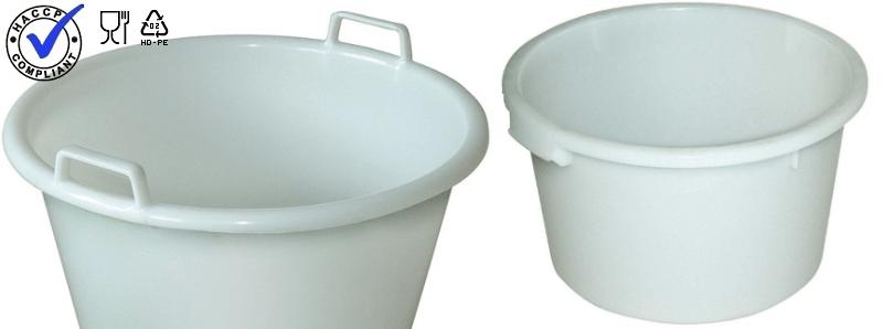 Plastic kuipen hygiënisch design