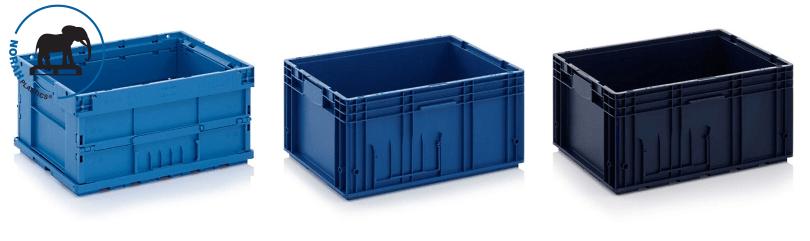 Plastic bakken KLT geautomatiseerde productieprocessen