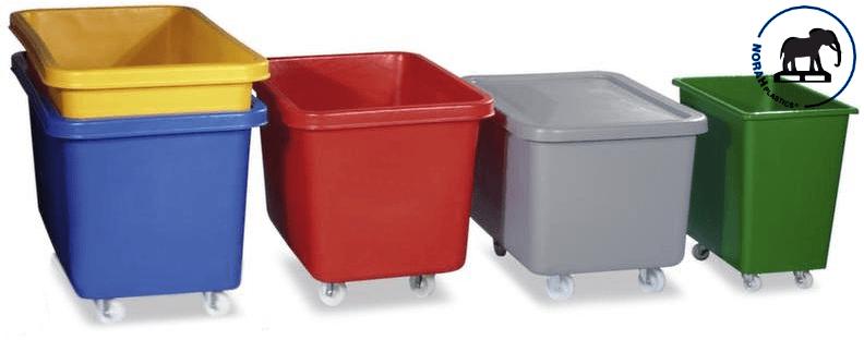Plastic transportbakken